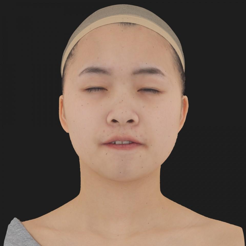 Kaylee Kanegai 15 Phoneme Hard FV-Eye Squint