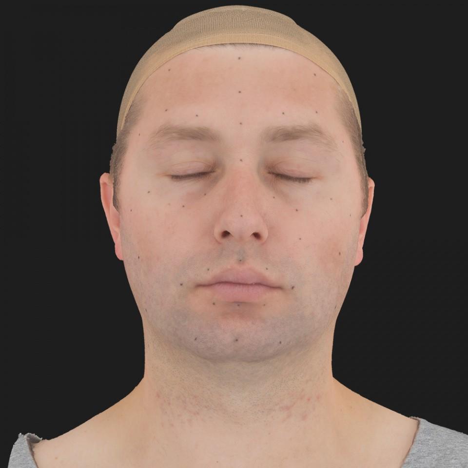 Kevin Barnett 02 Neutral-Eyes Closed