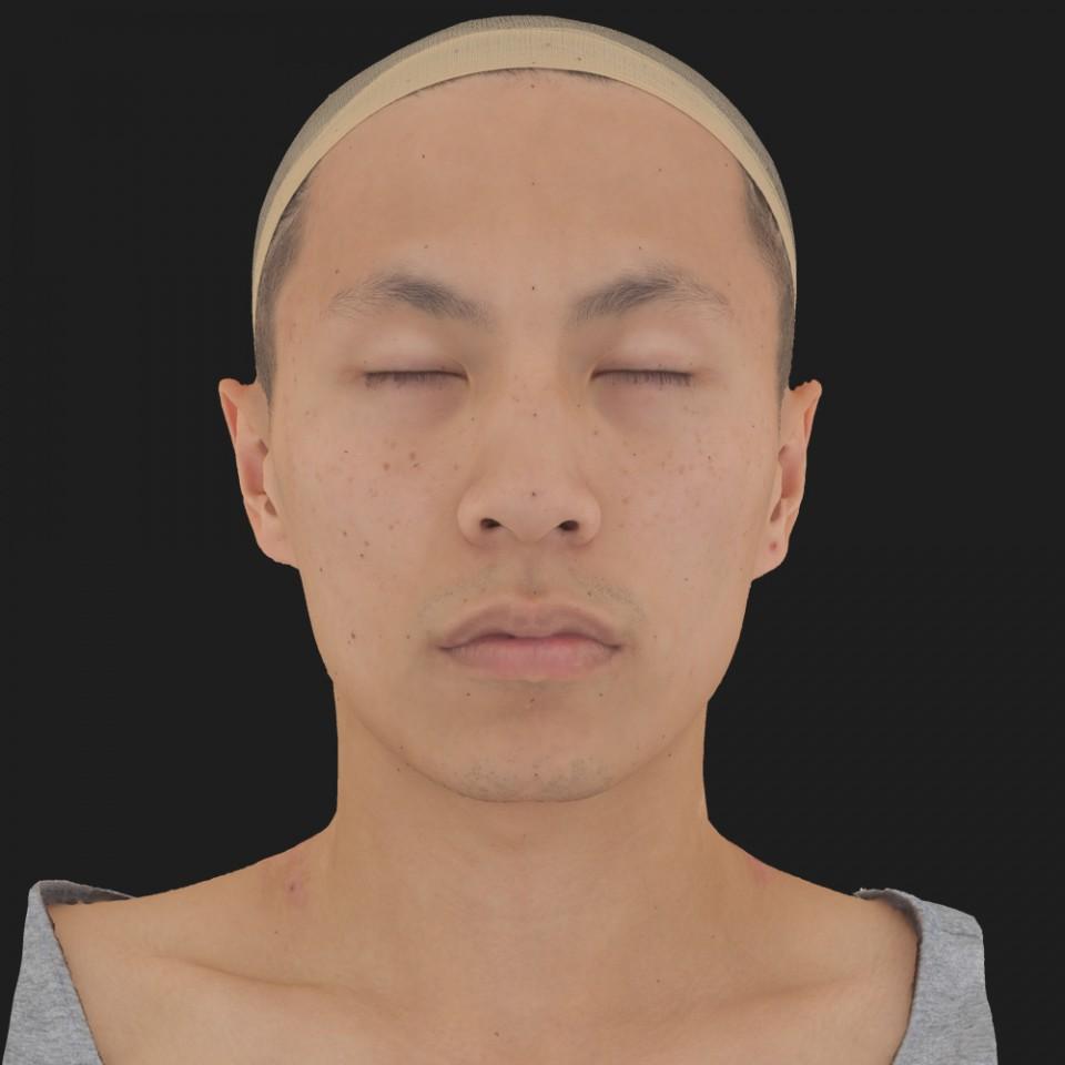 Kian Matsuda 02 Neutral-Eyes Closed