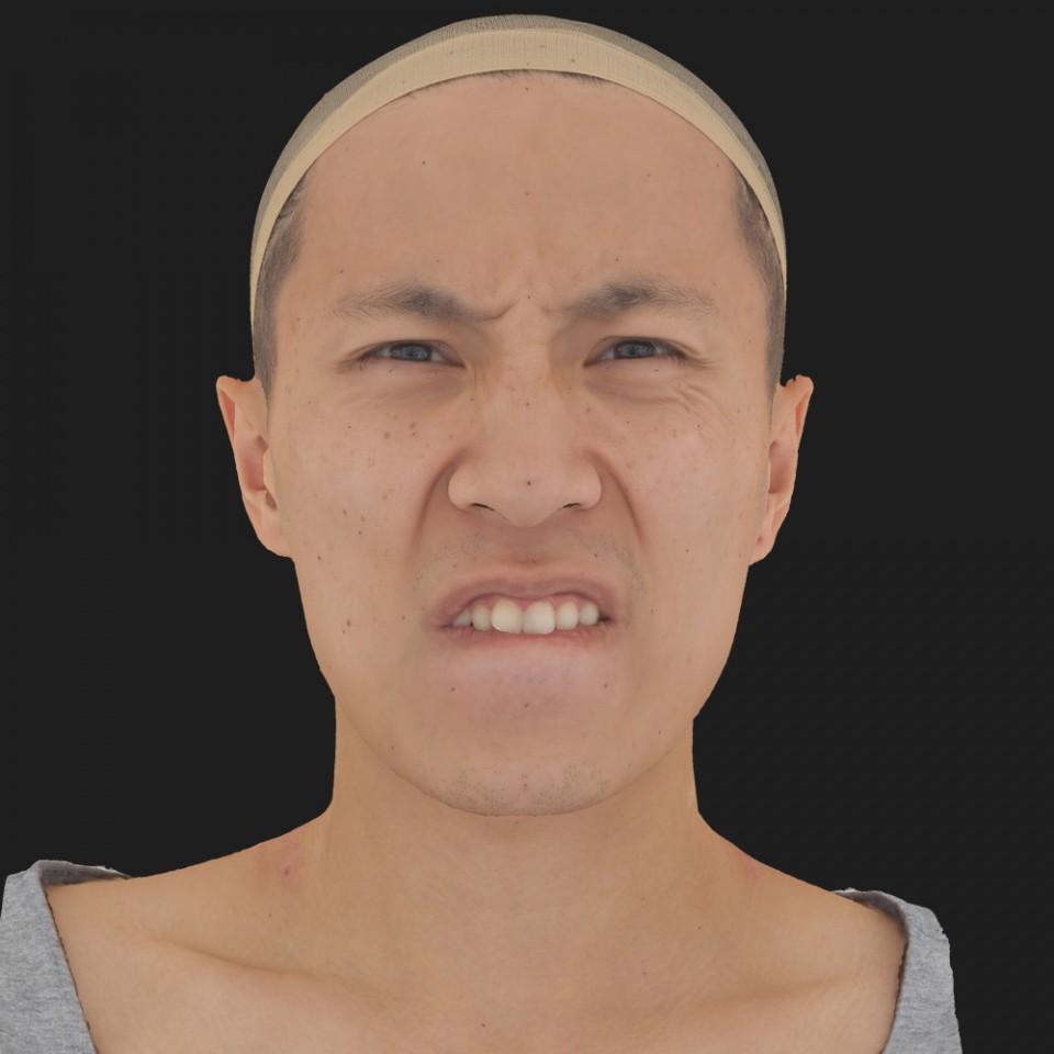 Kian Matsuda 15 Phoneme Hard FV-Eye Squint
