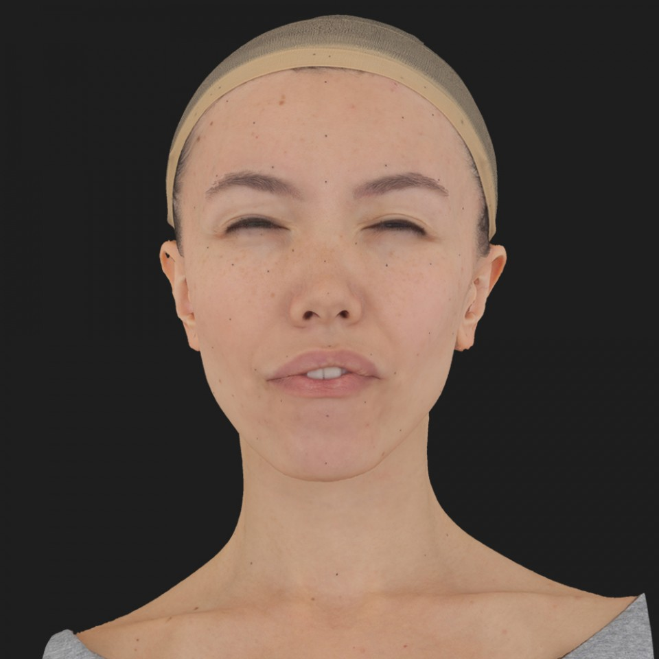 Kim Lee 15 Phoneme Hard FV-Eye Squint