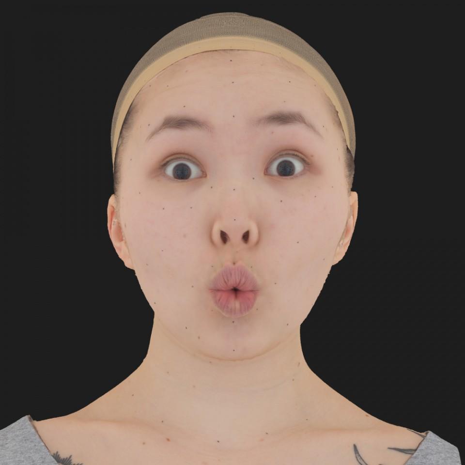 Kristen Kish 11 Phoneme OO-Brow Raise Eyes Open Wide