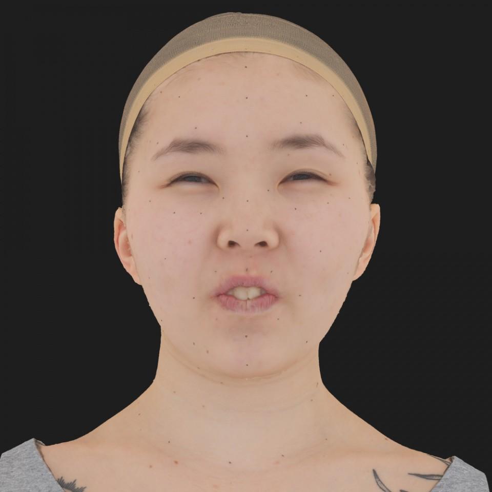 Kristen Kish 15 Phoneme Hard FV-Eye Squint