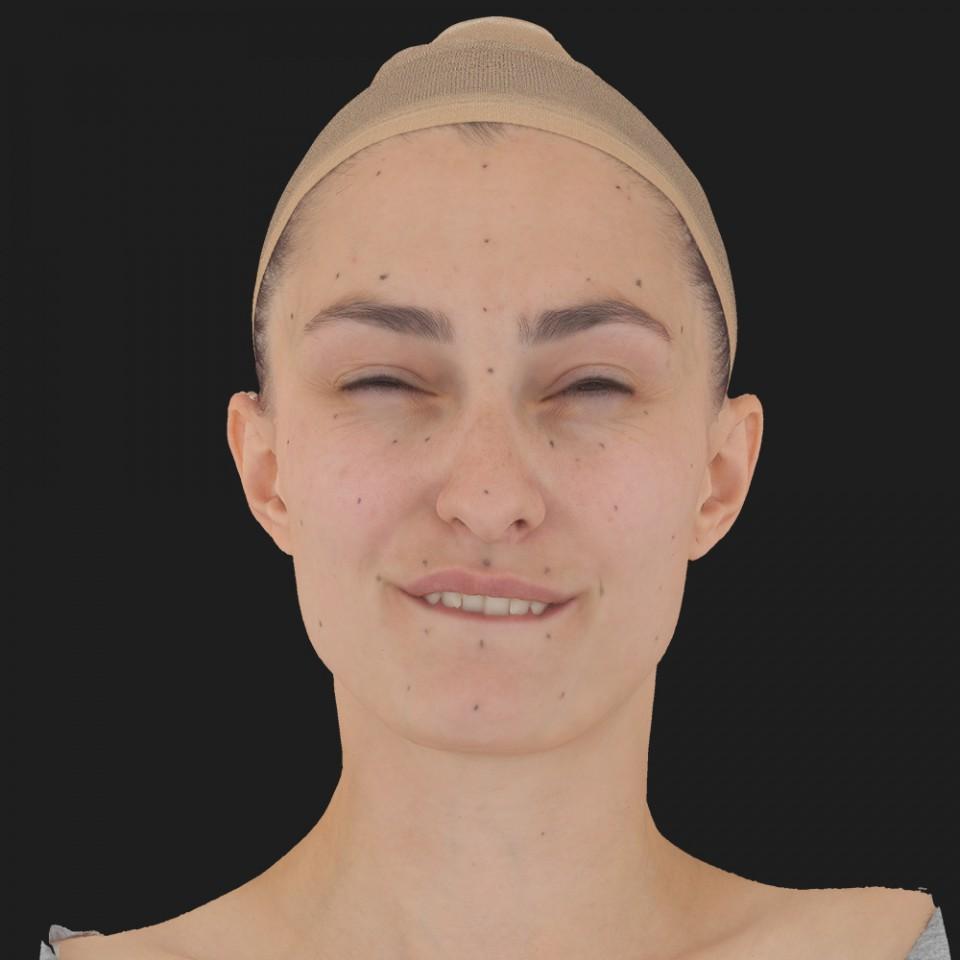 Kristina Bryan 15 Phoneme Hard FV-Eye Squint