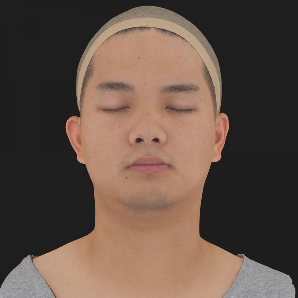 Lance Osama 02 Neutral-Eyes Closed