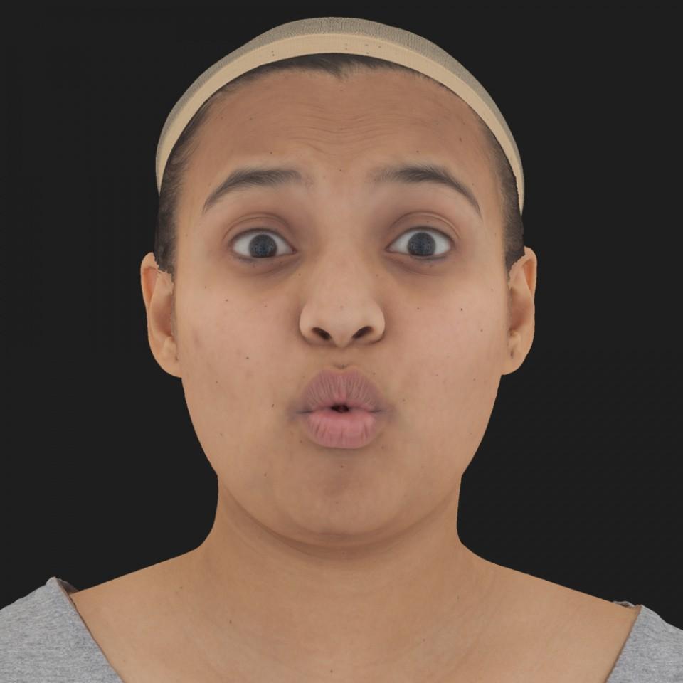 Latika Dhawan 11 Phoneme OO-Brow Raise Eyes Open Wide