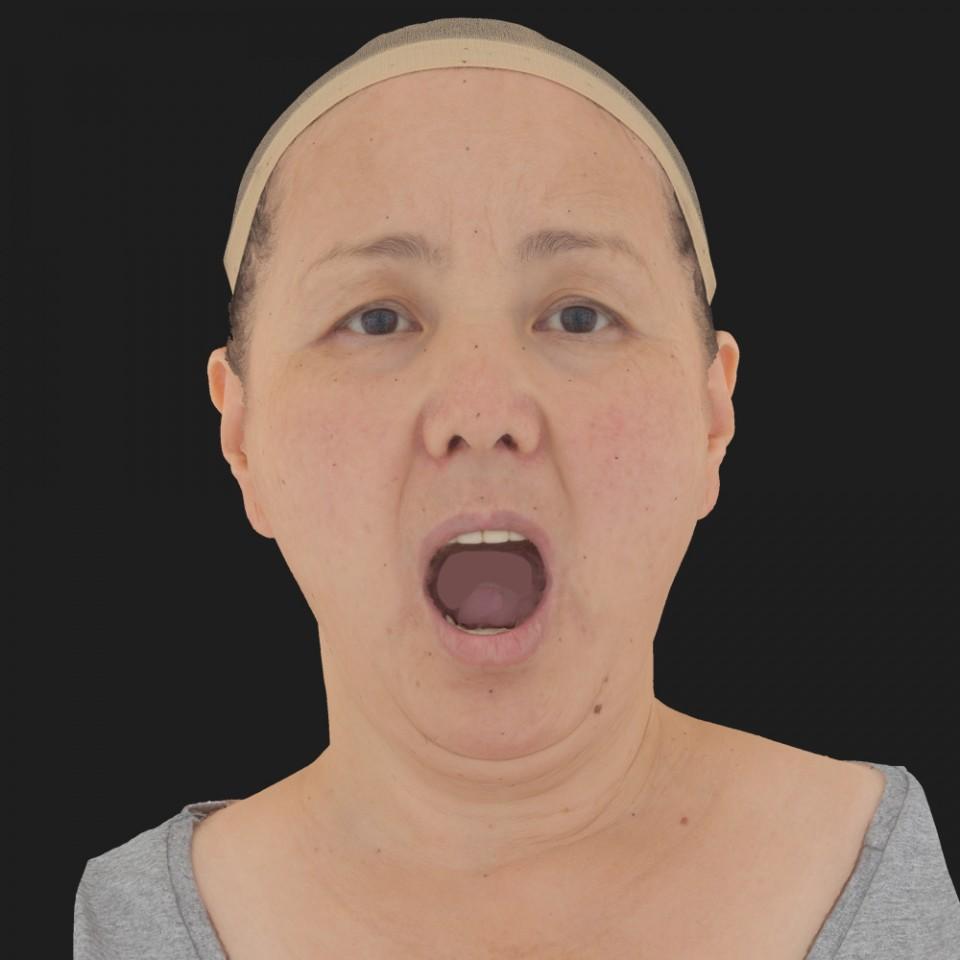 Laura Nan 05 Jaw Open