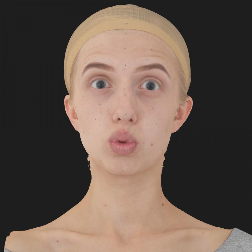 Lena Henry 11 Phoneme OO-Brow Raise Eyes Open Wide