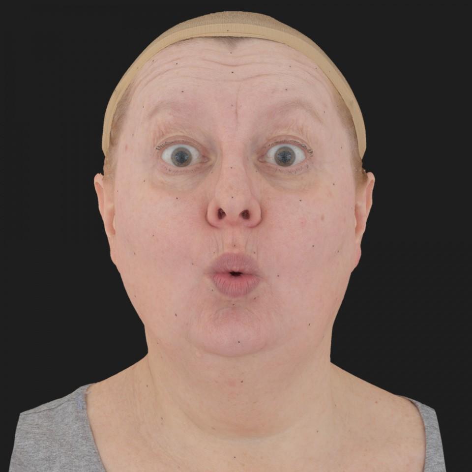 Lesley Corlett 11 Phoneme OO-Brow Raise Eyes Open Wide