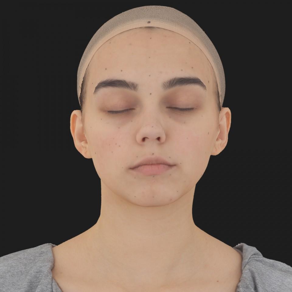 Lillian Cox 02 Neutral-Eyes Closed