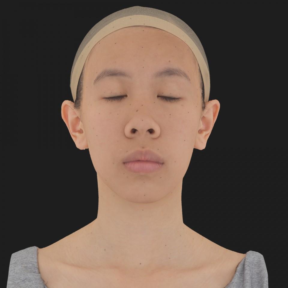 Lin Chu 02 Neutral-Eyes Closed