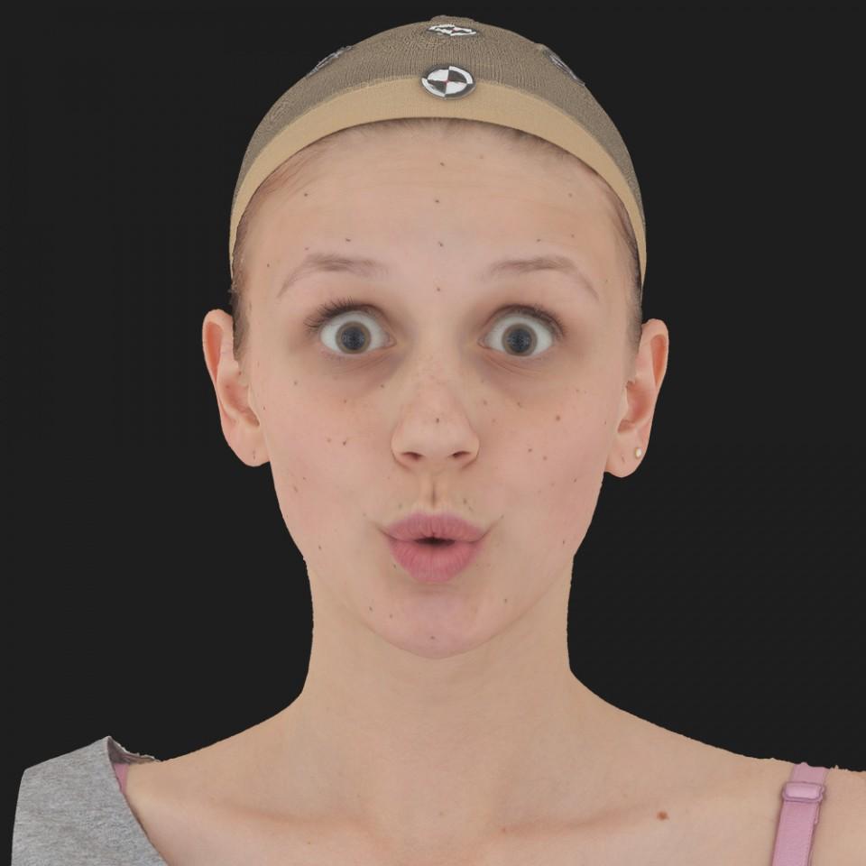 Linda Foster 11 Phoneme OO-Brow Raise Eyes Open Wide