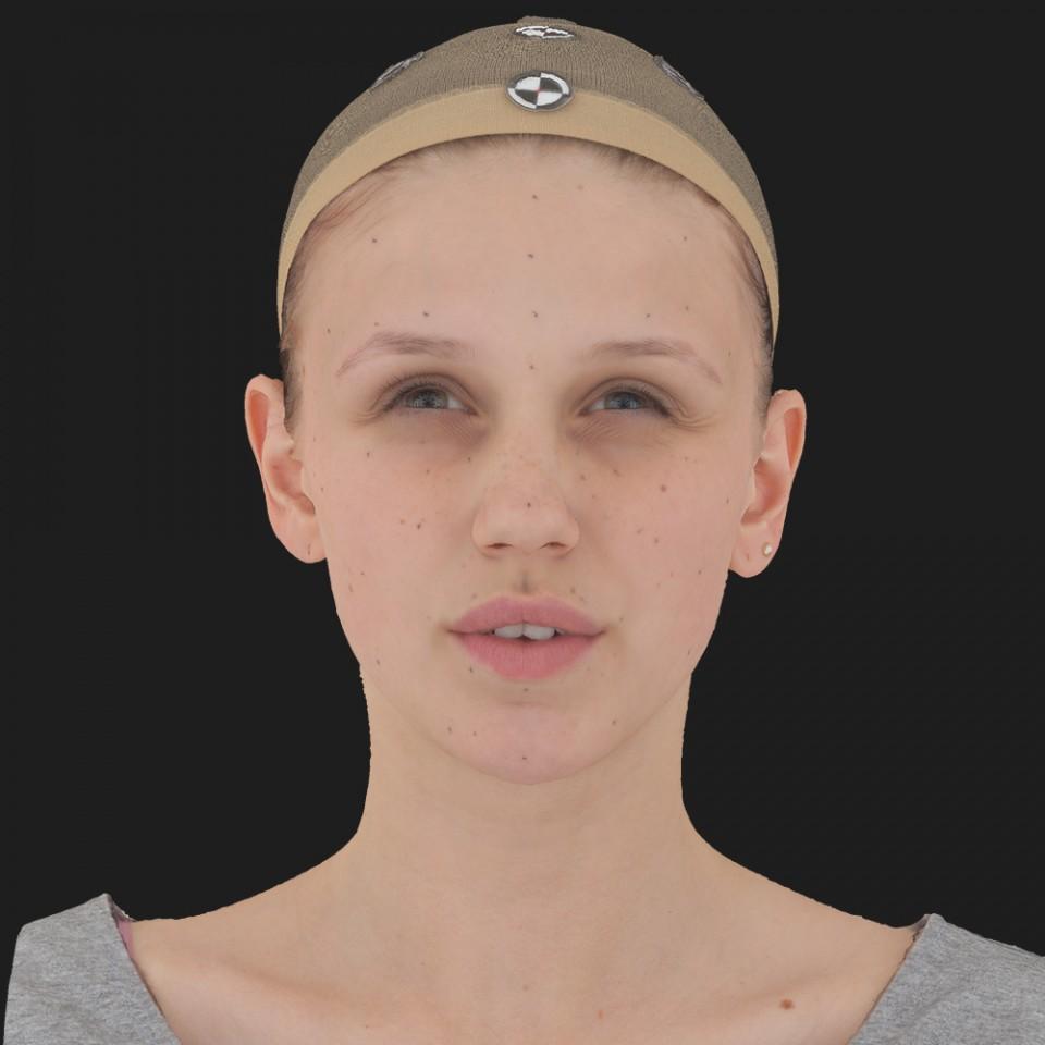 Linda Foster 15 Phoneme Hard FV-Eye Squint