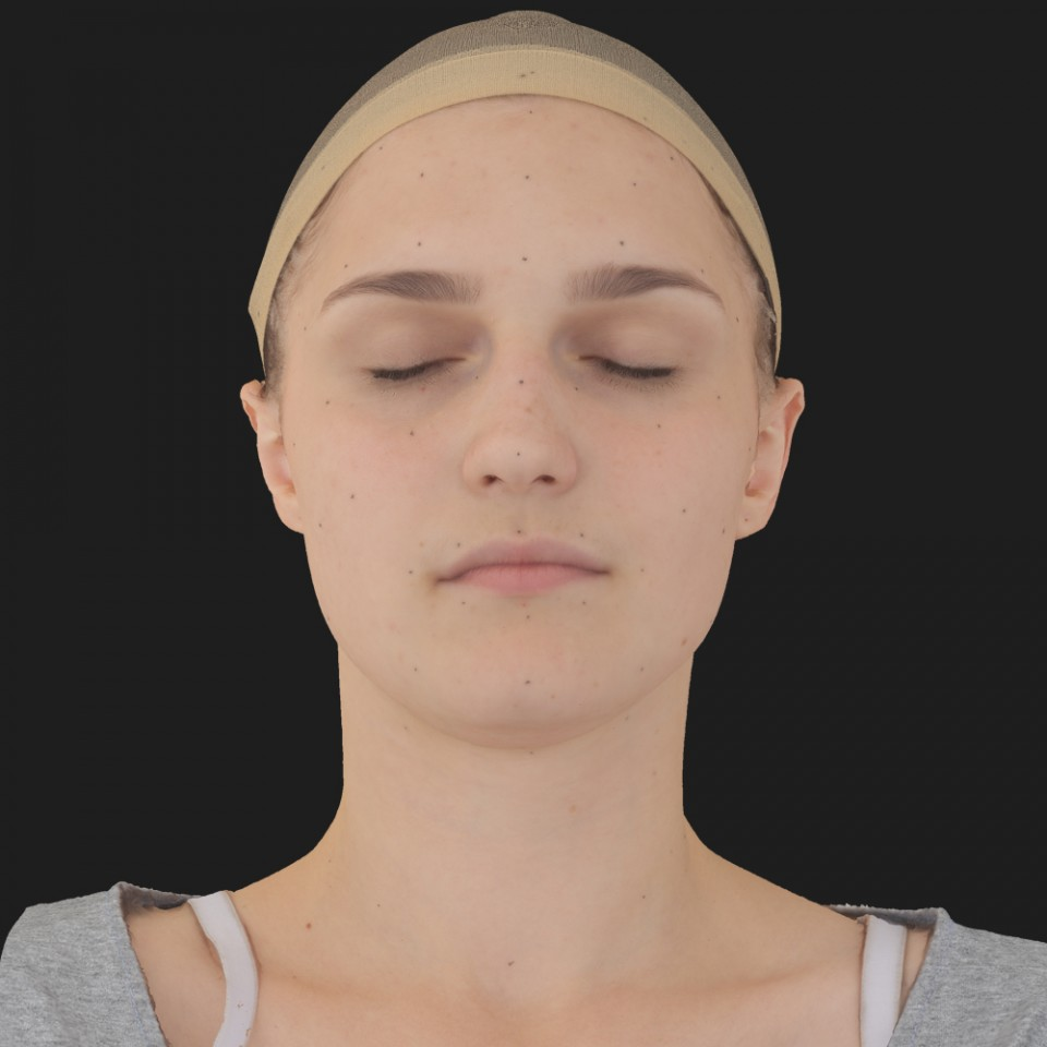Lora Sharp 02 Neutral-Eyes Closed