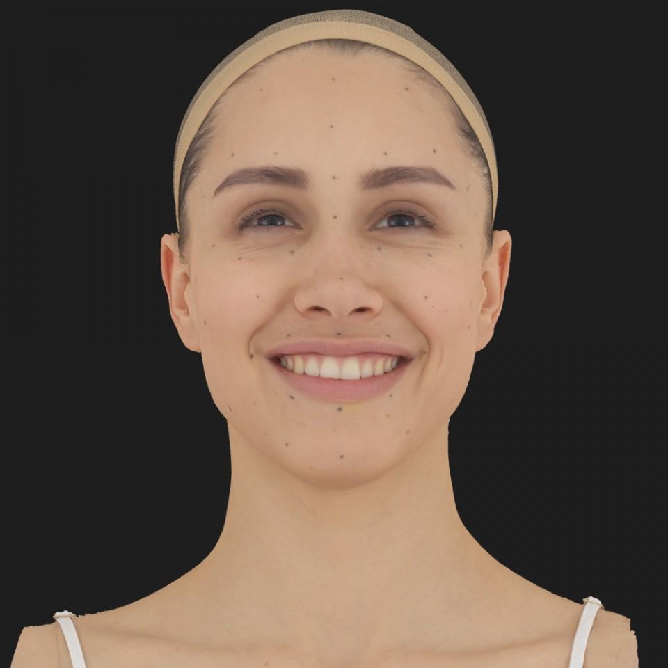 Louise White 04 Smile-Mouth Open