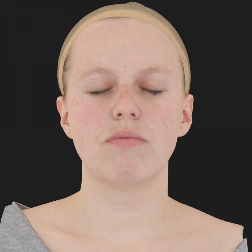 Lucie Wedan 02 Neutral-Eyes Closed
