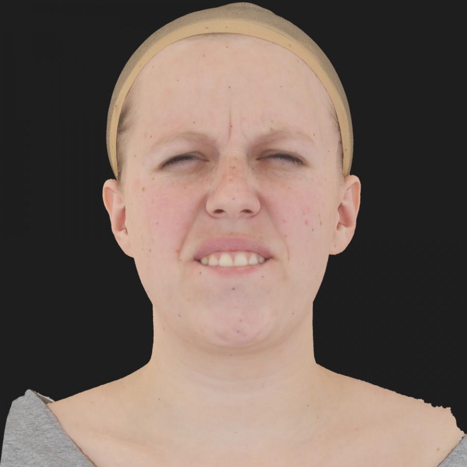 Lucie Wedan 15 Phoneme Hard FV-Eye Squint