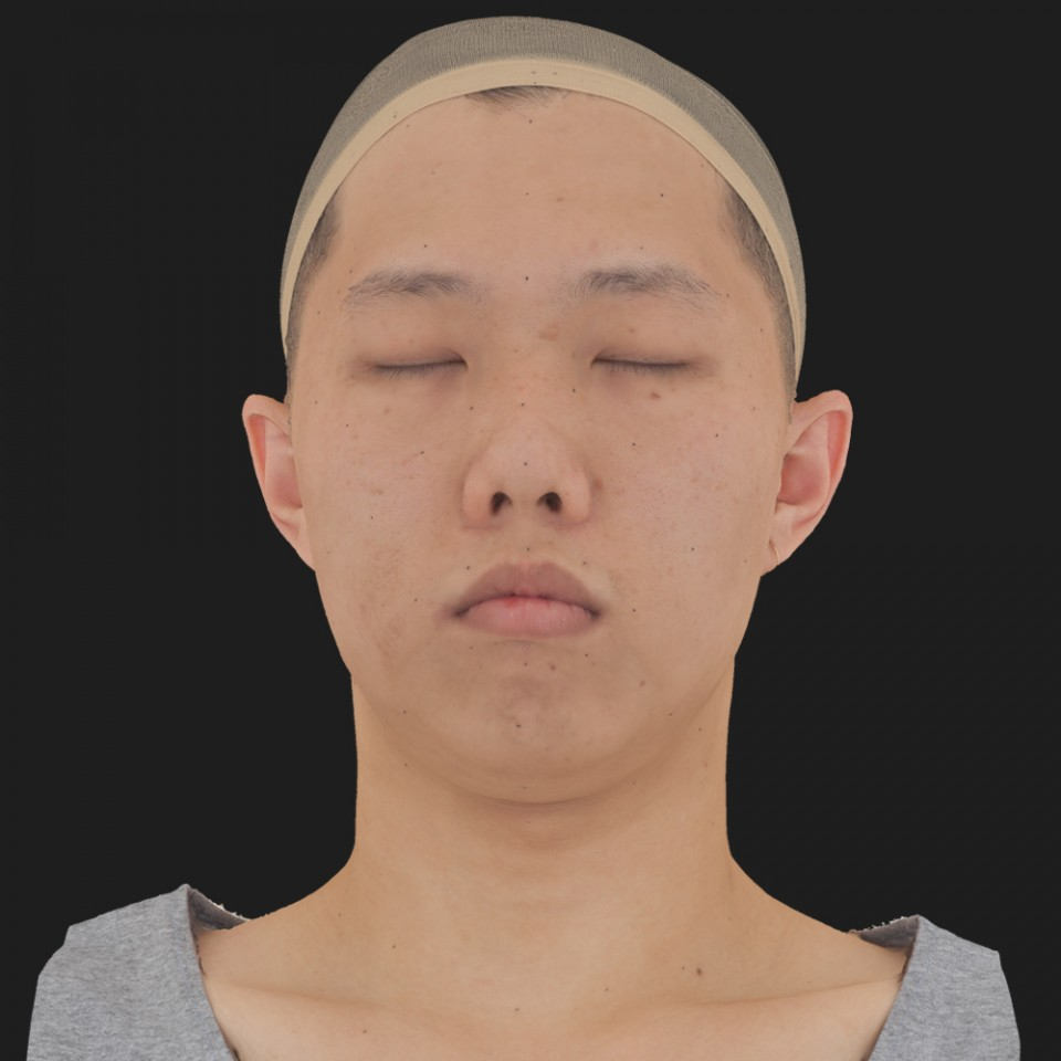 Luke Yoon 02 Neutral-Eyes Closed