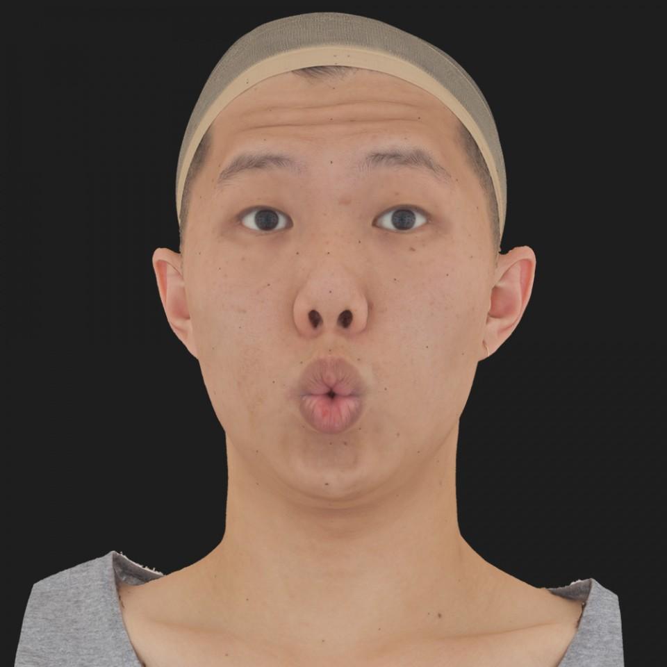 Luke Yoon 11 Phoneme OO-Brow Raise Eyes Open Wide
