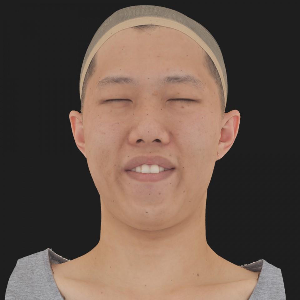 Luke Yoon 15 Phoneme Hard FV-Eye Squint