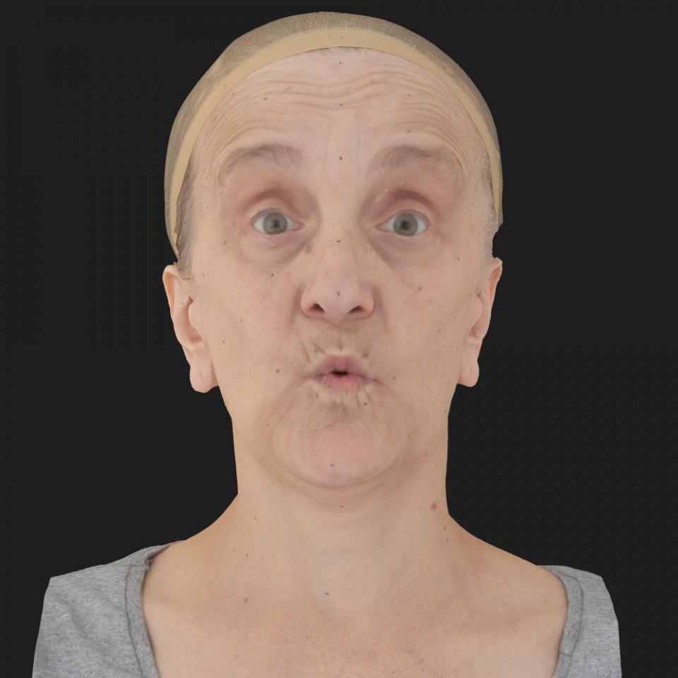 Maggie Ward 11 Phoneme OO-Brow Raise Eyes Open Wide