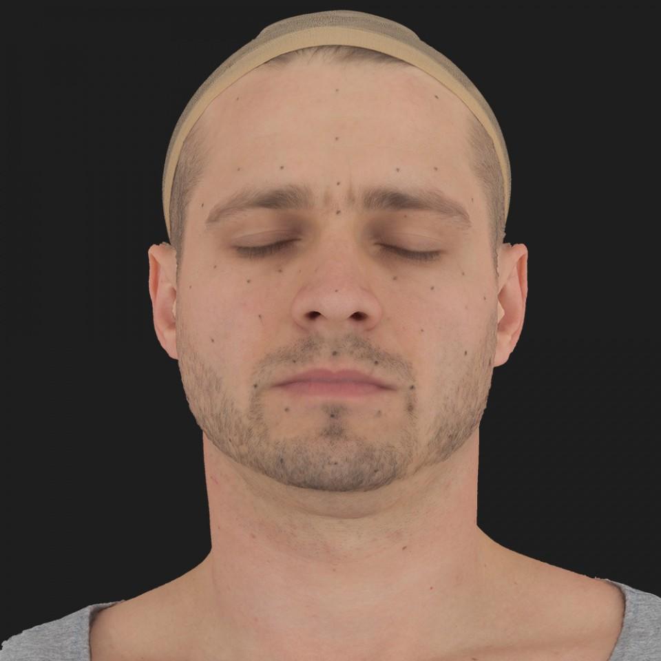 Manuel Tucker 02 Neutral-Eyes Closed