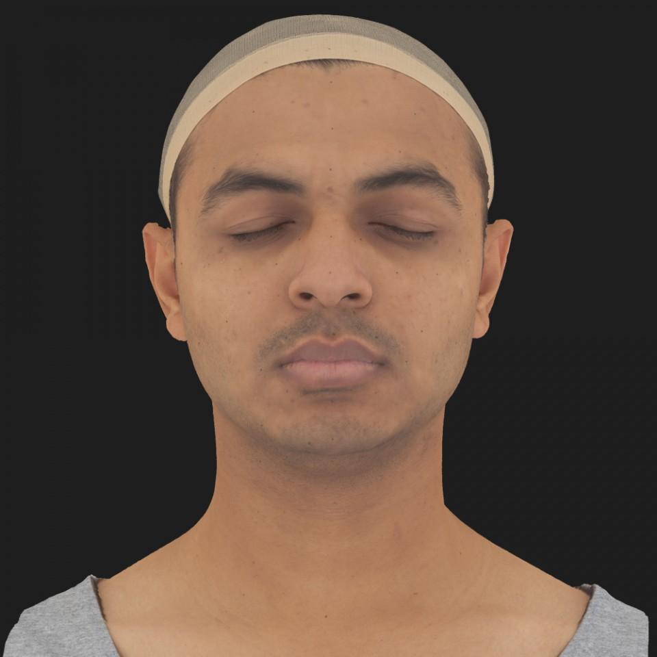 Marcus Dhar 02 Neutral-Eyes Closed