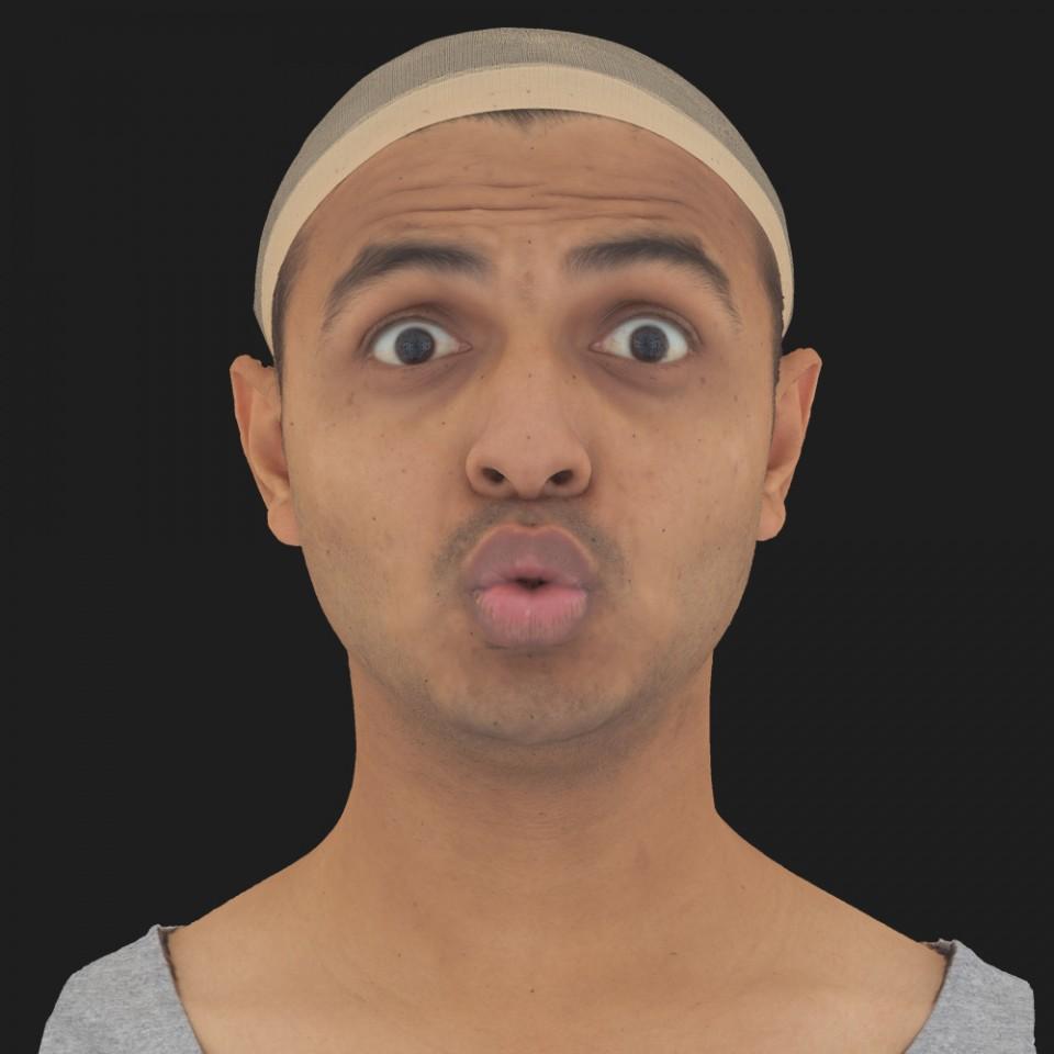 Marcus Dhar 11 Phoneme OO-Brow Raise Eyes Open Wide