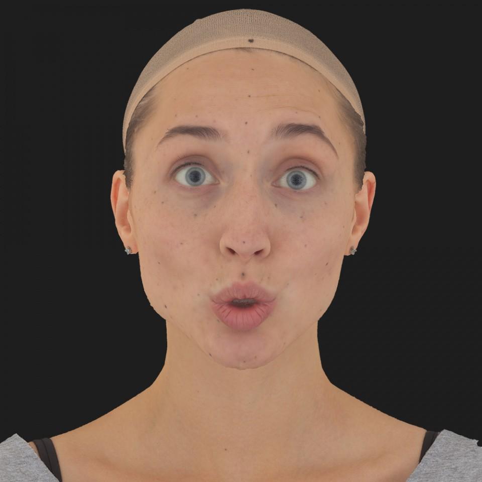 Maria Evans 11 Phoneme OO-Brow Raise Eyes Open Wide