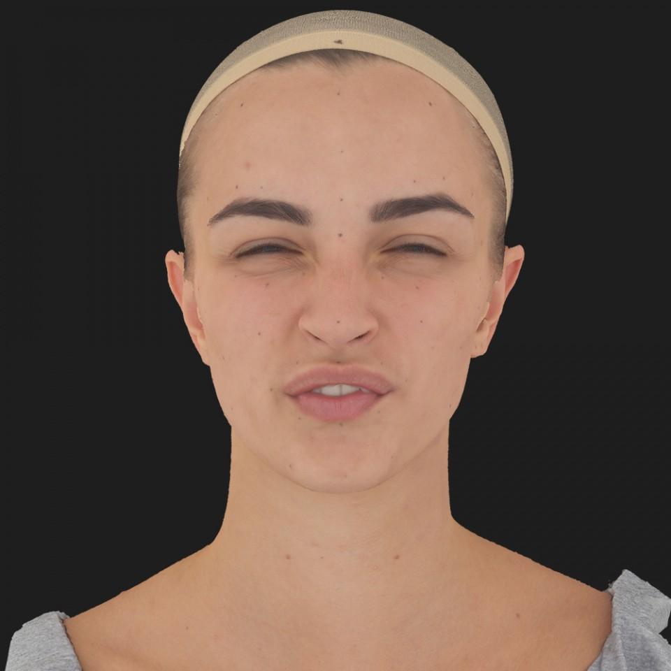 Maria Kelly 15 Phoneme Hard FV-Eye Squint