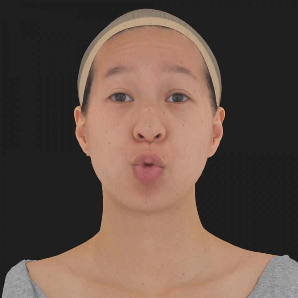 Marie Lu 11 Phoneme OO-Brow Raise Eyes Open Wide