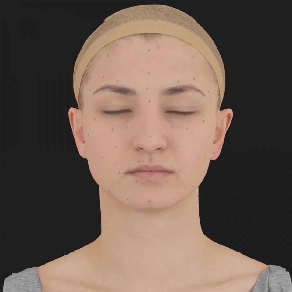 Marie Reyes 02 Neutral-Eyes Closed