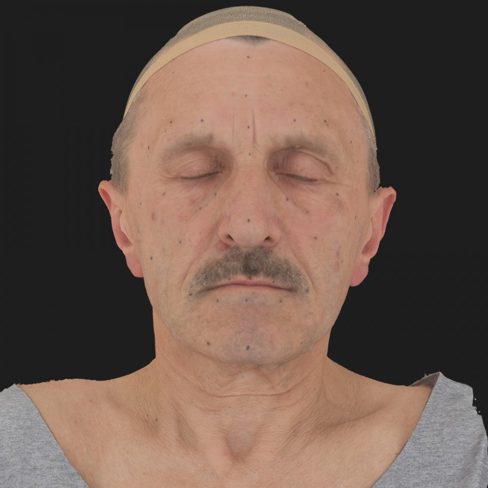 Mario Sotti 02 Neutral-Eyes Closed