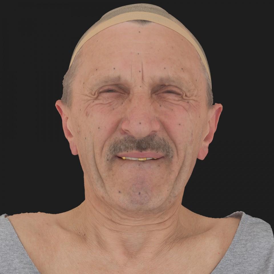 Mario Sotti 15 Phoneme Hard FV-Eye Squint