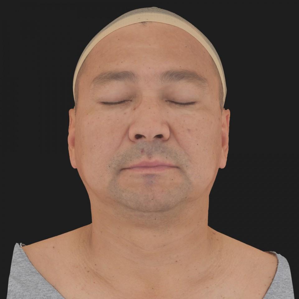 Mark Yun 02 Neutral-Eyes Closed