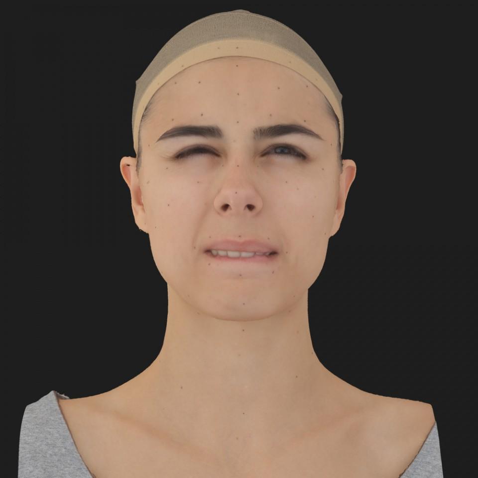Marta Hudson 15 Phoneme Hard FV-Eye Squint