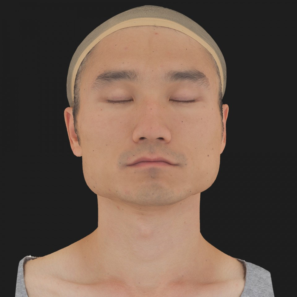Matias Dong 02 Neutral-Eyes Closed