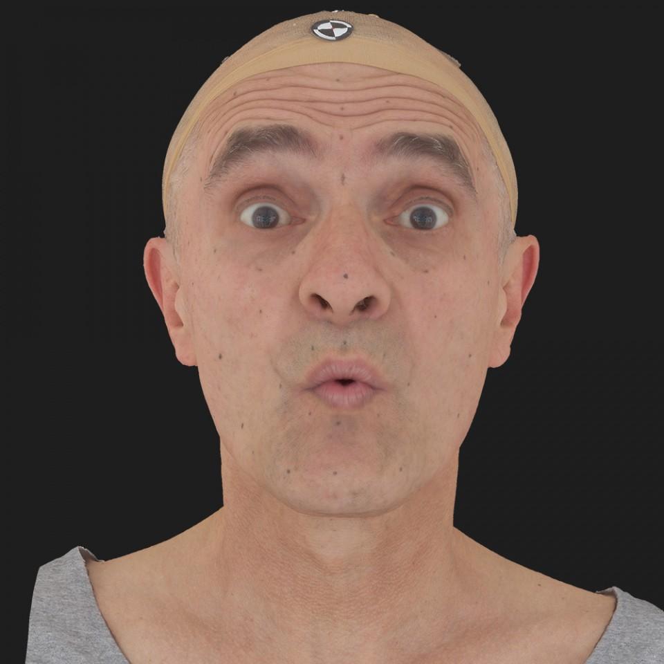 Matt Gilbert 11 Phoneme OO-Brow Raise Eyes Open Wide