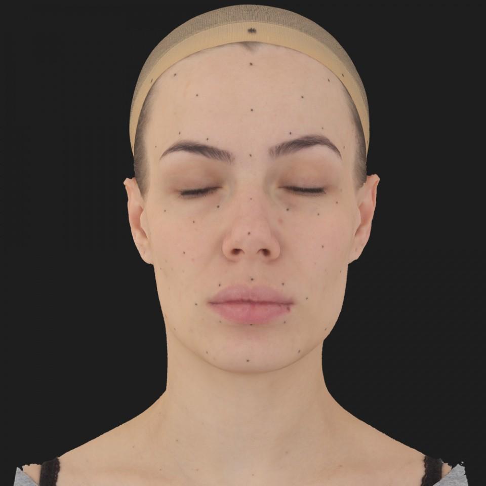 Melissa Bell 02 Neutral-Eyes Closed