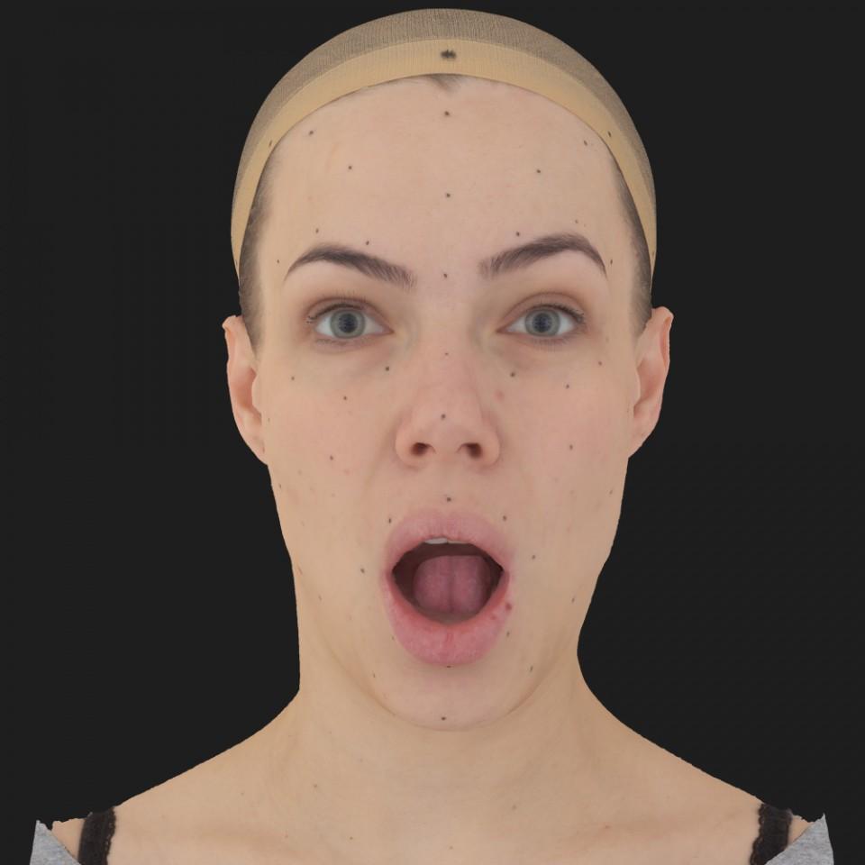 Melissa Bell 05 Jaw Open