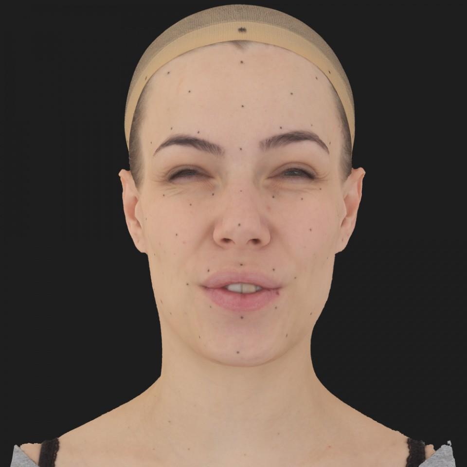 Melissa Bell 15 Phoneme Hard FV-Eye Squint