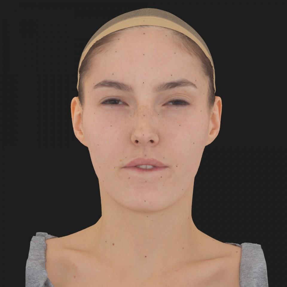 Mia Yang 15 Phoneme Hard FV-Eye Squint