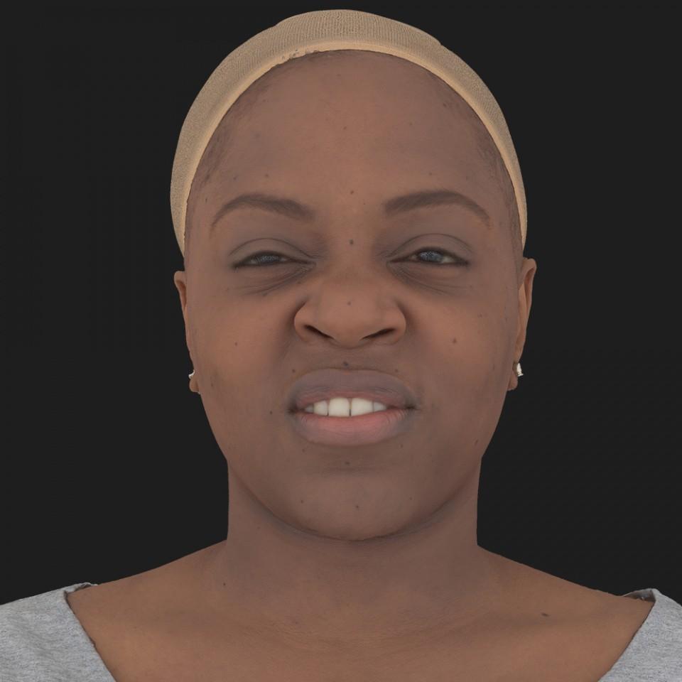 Michele Lowe 15 Phoneme Hard FV-Eye Squint