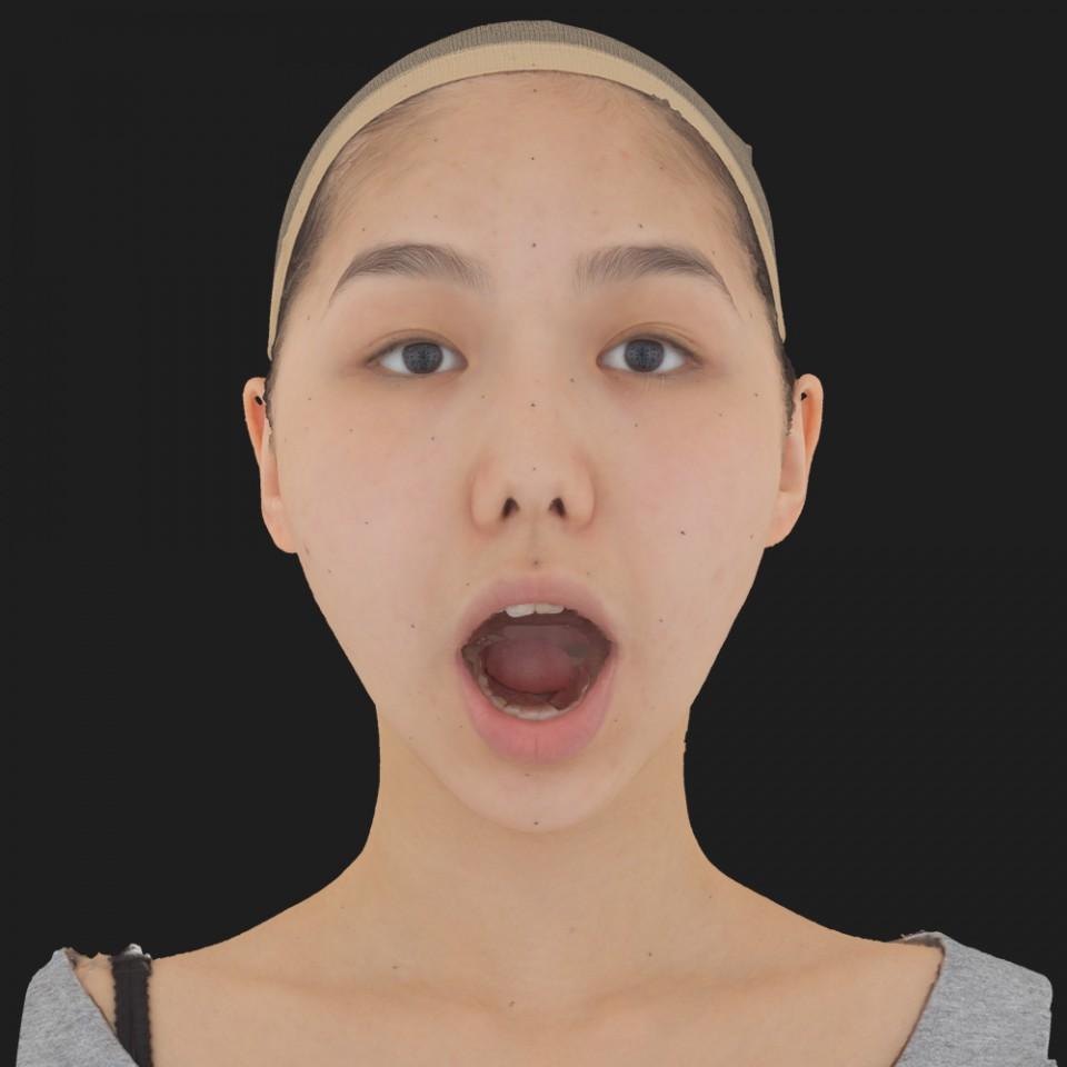 Mina Yao 05 Jaw Open