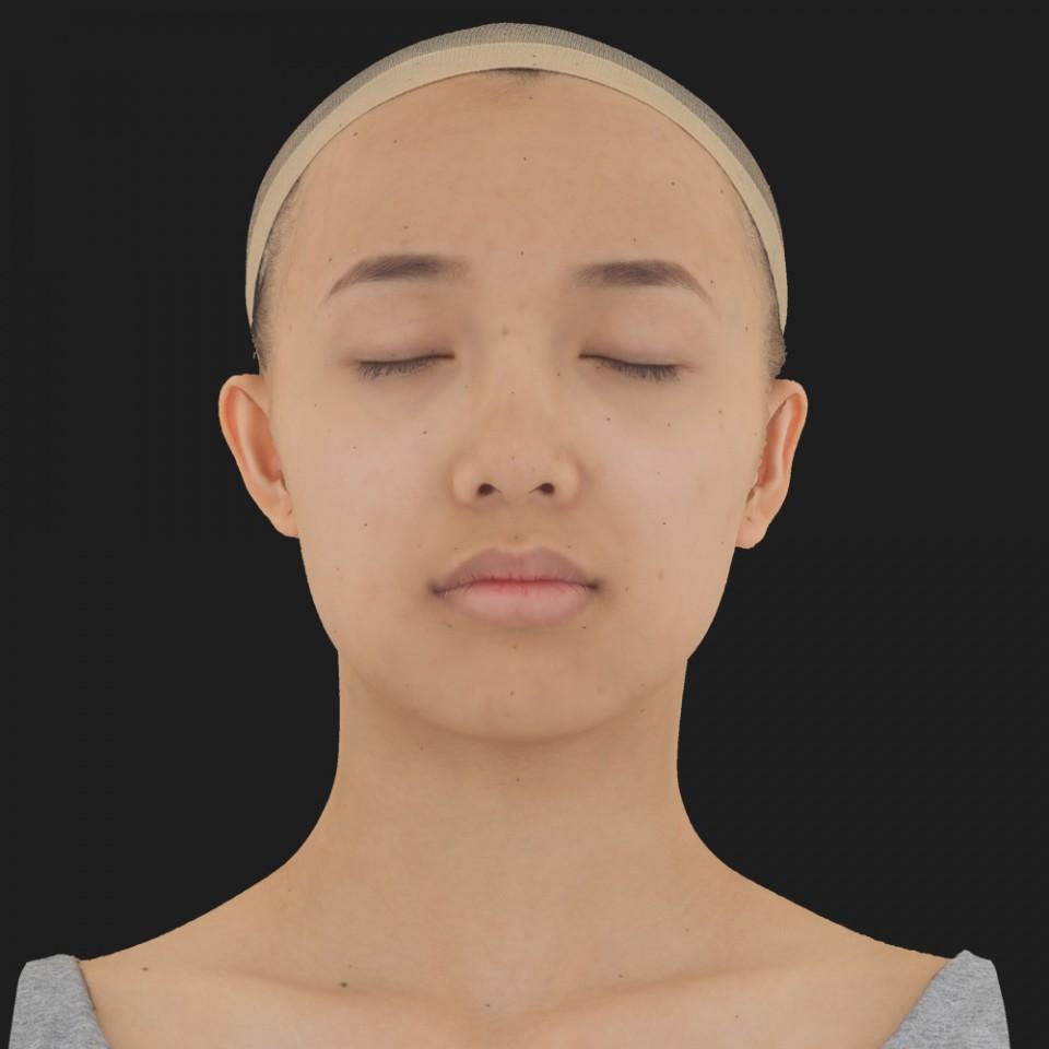 Molly Ono 02 Neutral-Eyes Closed