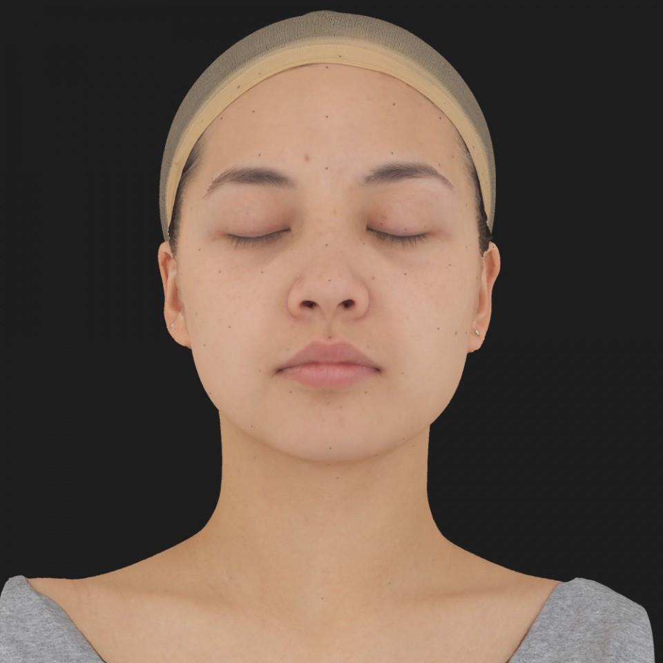 Naomi Takai 02 Neutral-Eyes Closed