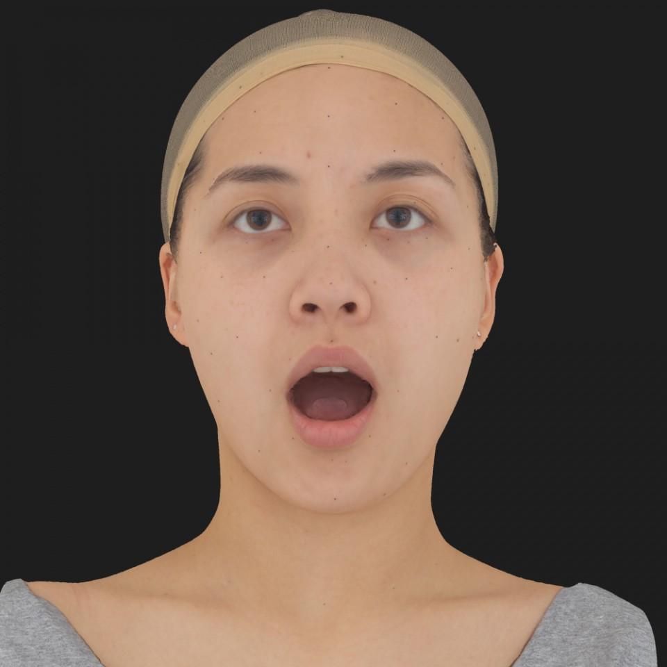 Naomi Takai 05 Jaw Open