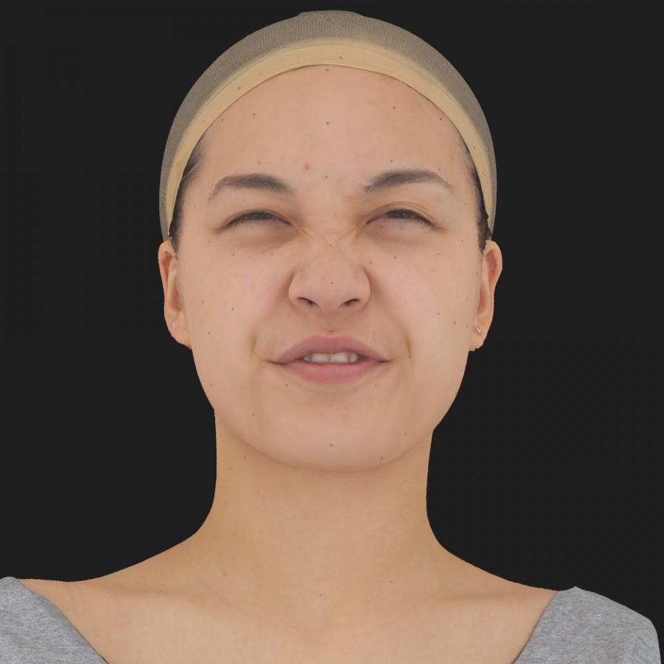 Naomi Takai 15 Phoneme Hard FV-Eye Squint