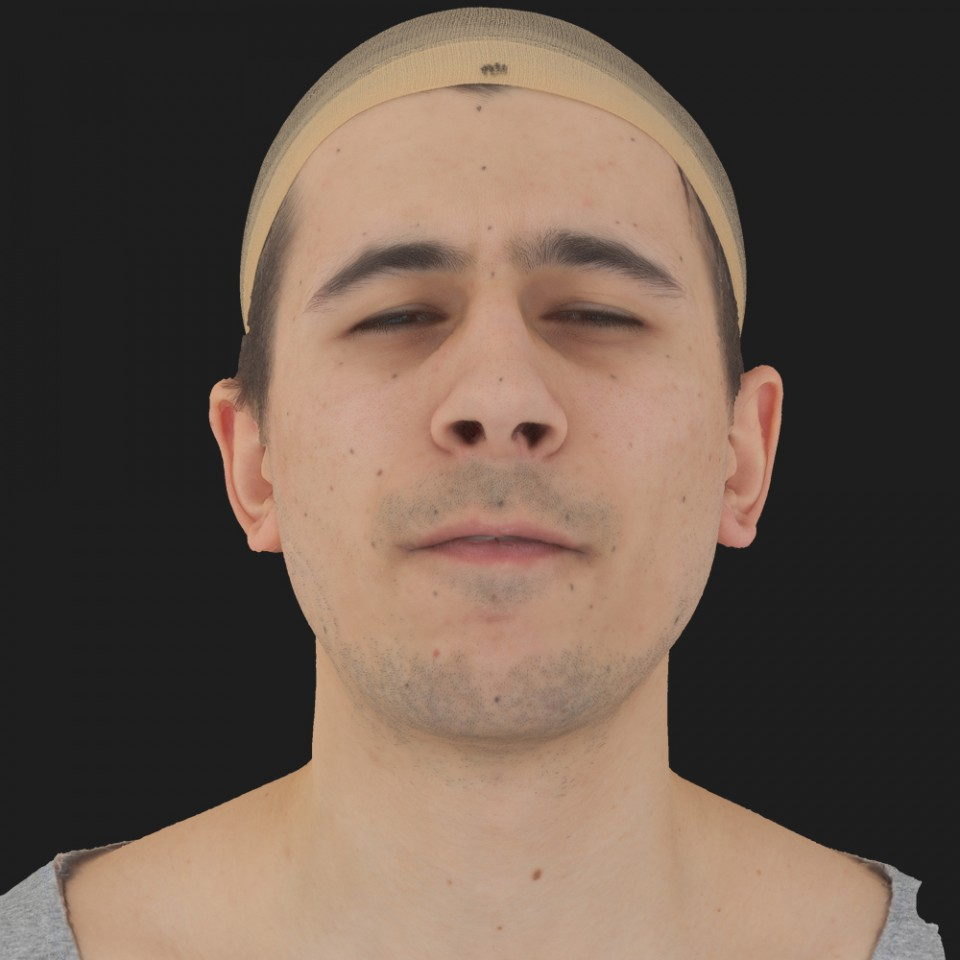 Nicholas Griffin 15 Phoneme Hard FV-Eye Squint