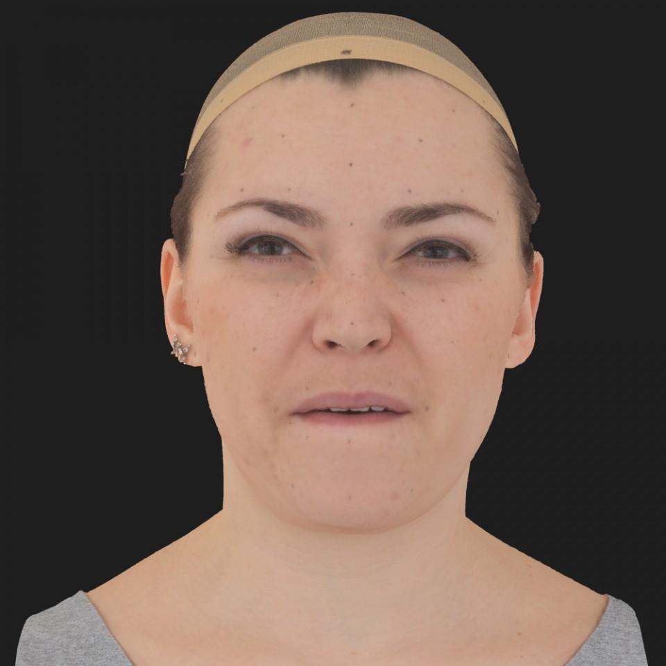 Nicole Brooks 15 Phoneme Hard FV-Eye Squint